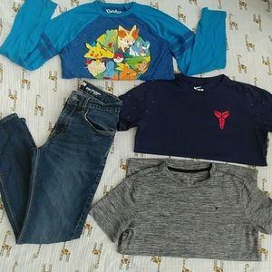 Boy's bundle! One Levi's jeans, 3 shirts.